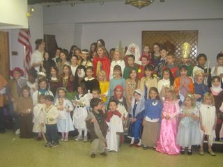 All saints day party 002